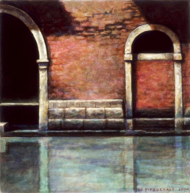 """Rio de San Severo"" original fine art by Joe Fitzgerald"