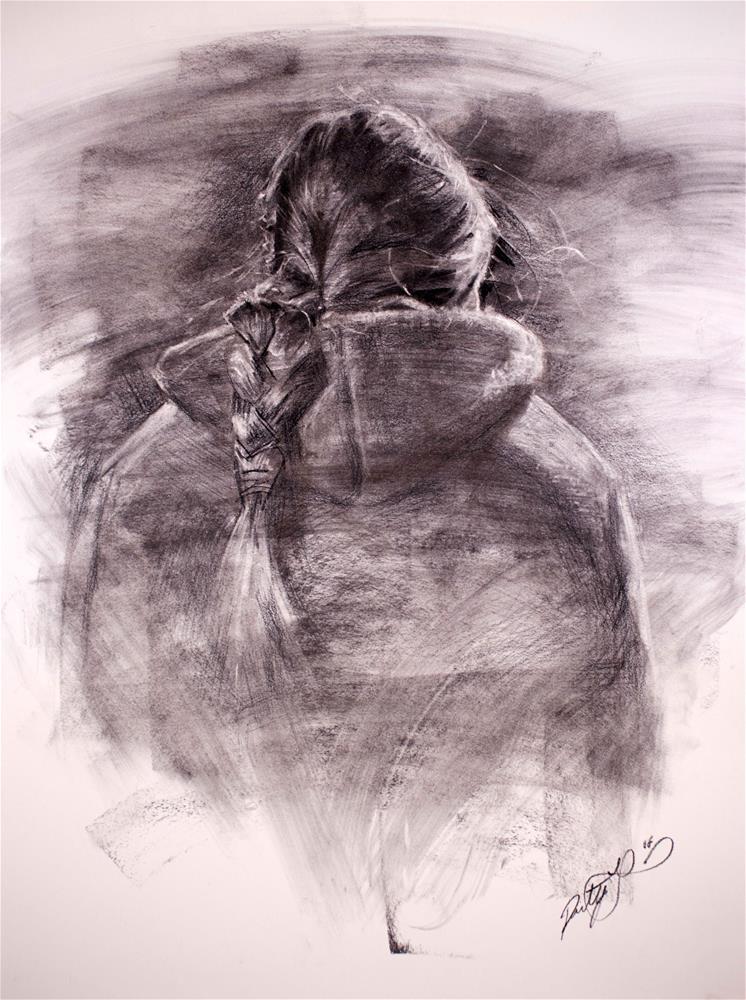 """Into the Cold"" original fine art by Dimitriy Gritsenko"