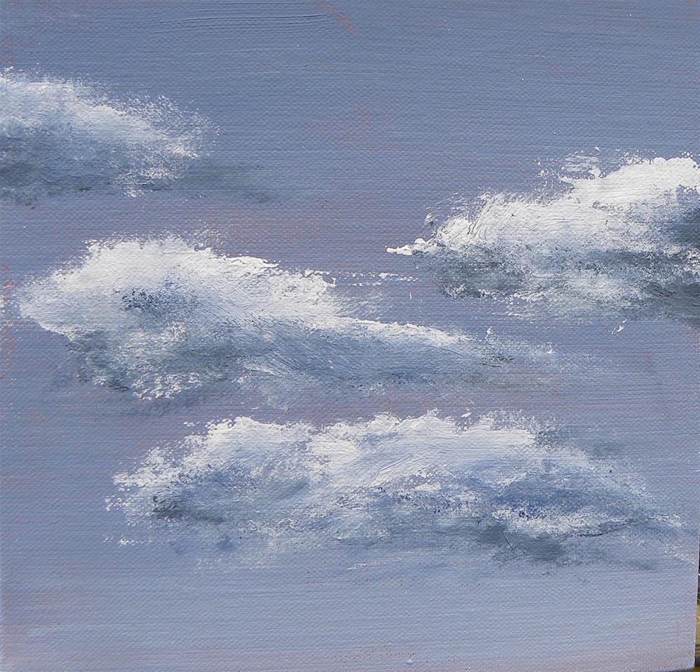 """""""Clouds"""" original fine art by cheryl buhrman"""
