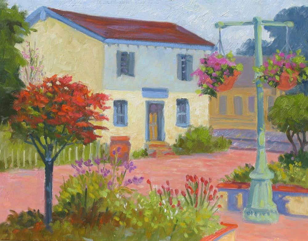 """The Old Adobe"" original fine art by Rhett Regina Owings"