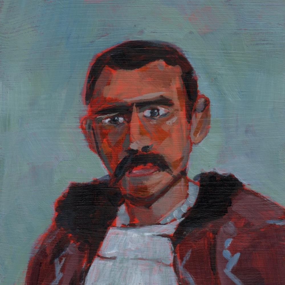 """""""Tiberiu (#349)"""" original fine art by Brian Miller"""