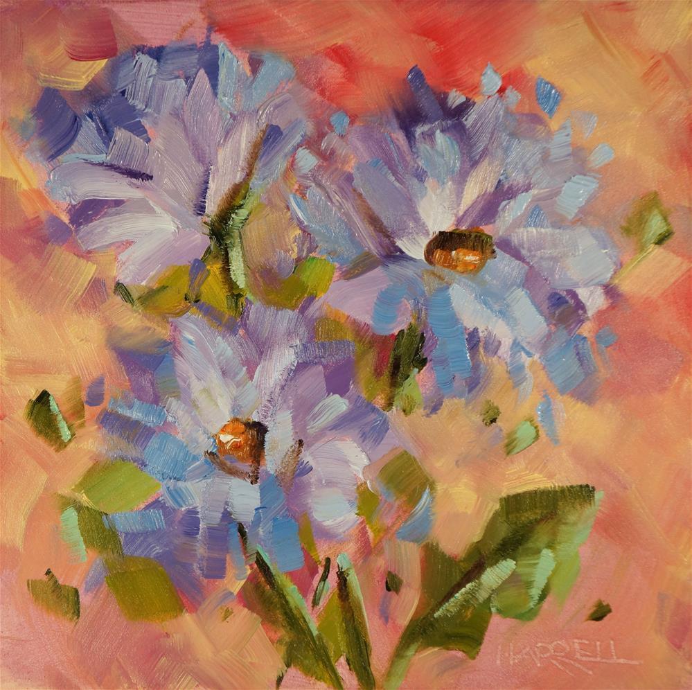 """May Days"" original fine art by Sue Harrell"