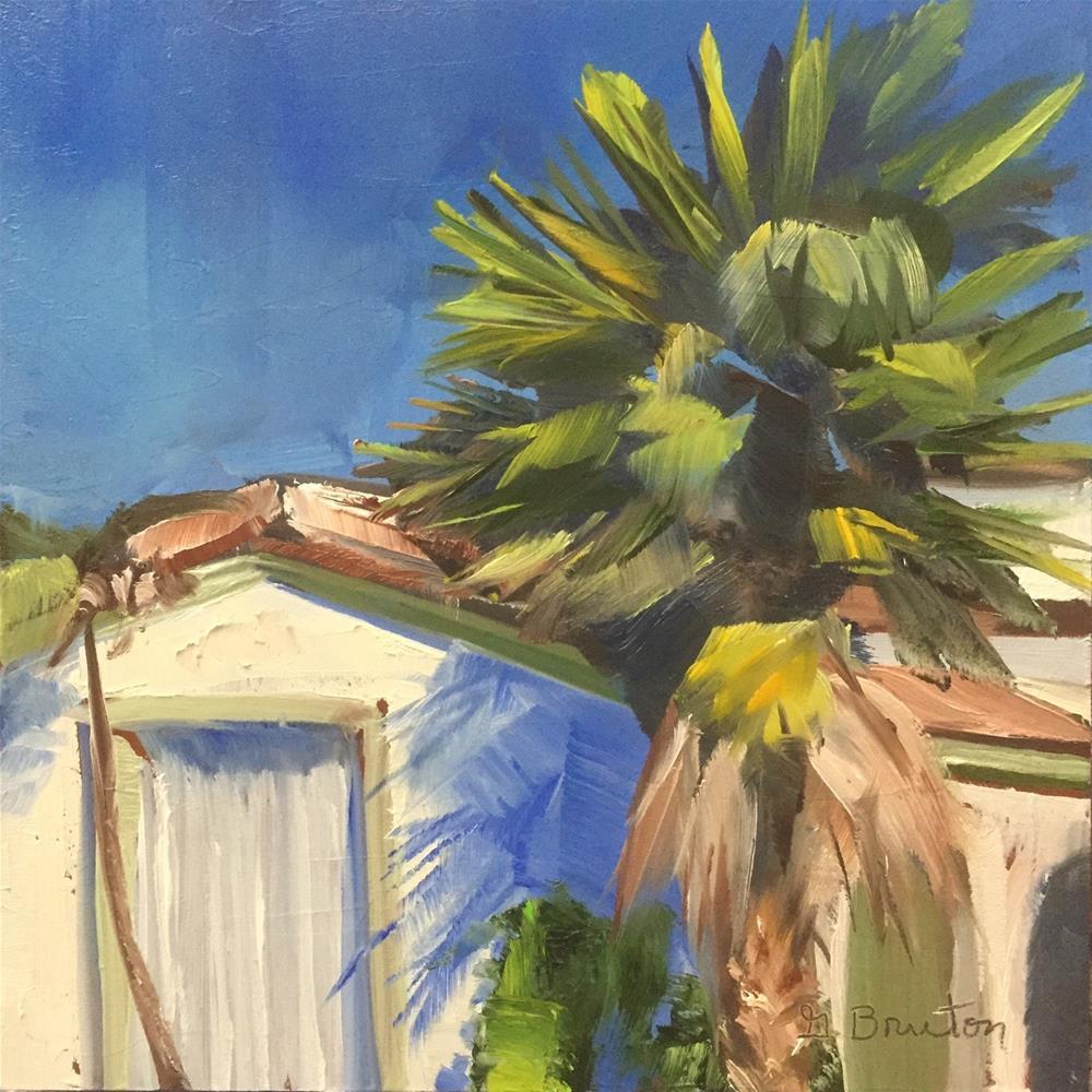 """Sunny Day LA"" original fine art by Gary Bruton"