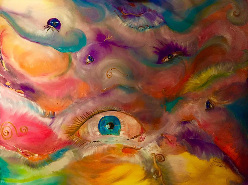 """""""I Only Have Eyes For You"""" original fine art by Yvonne Snead"""