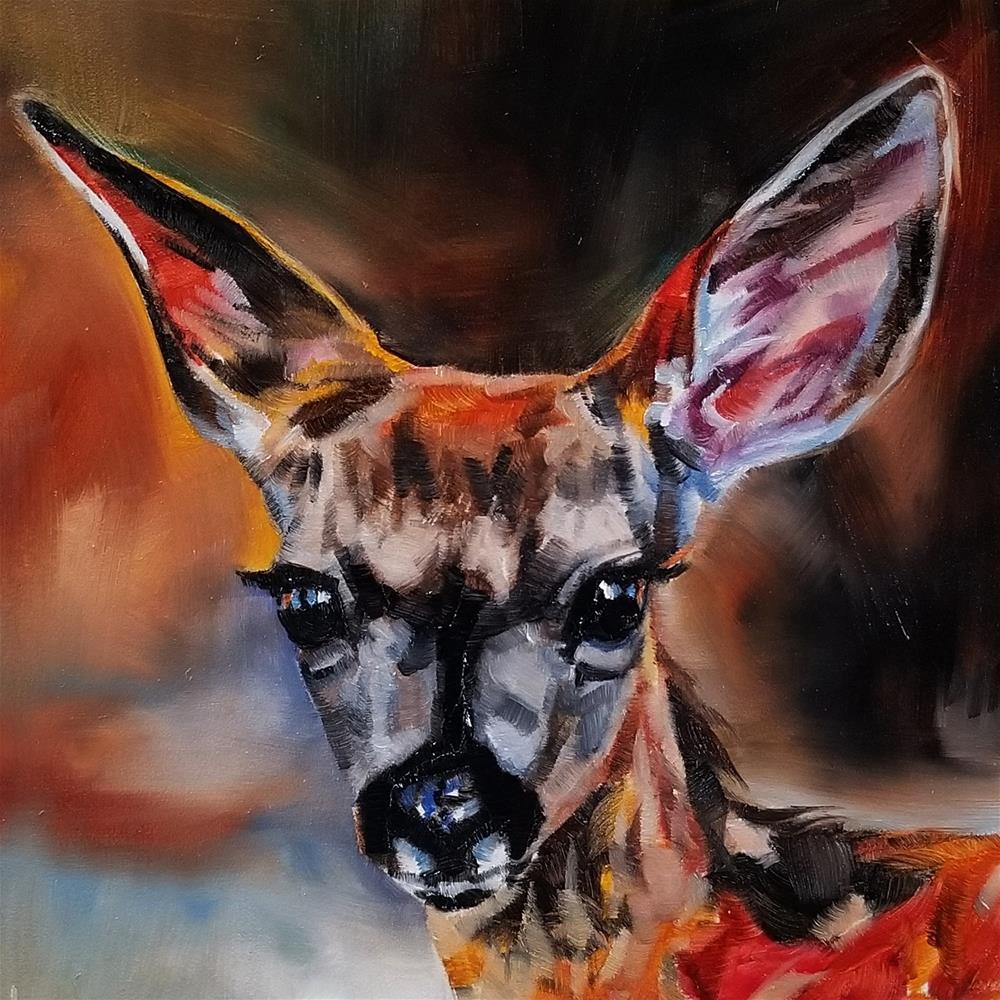 """Fresh Eyes"" original fine art by Crystal Cook"