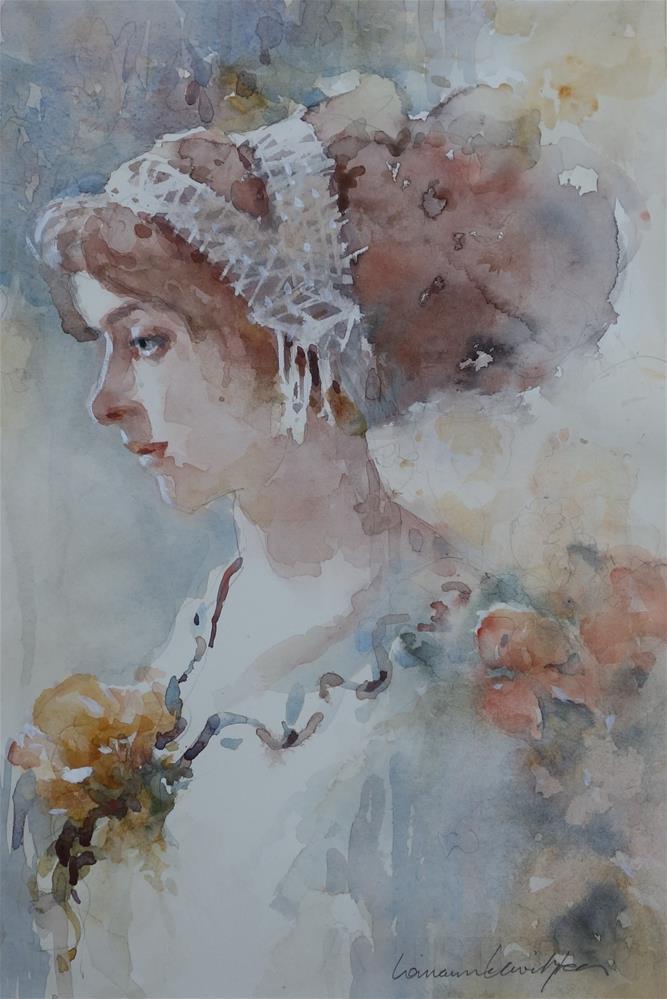 """Romantic"" original fine art by Lorraine Lewitzka"
