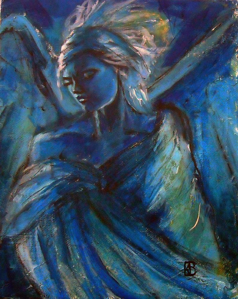 """Night Prayers"" original fine art by Kathleen Barnes"