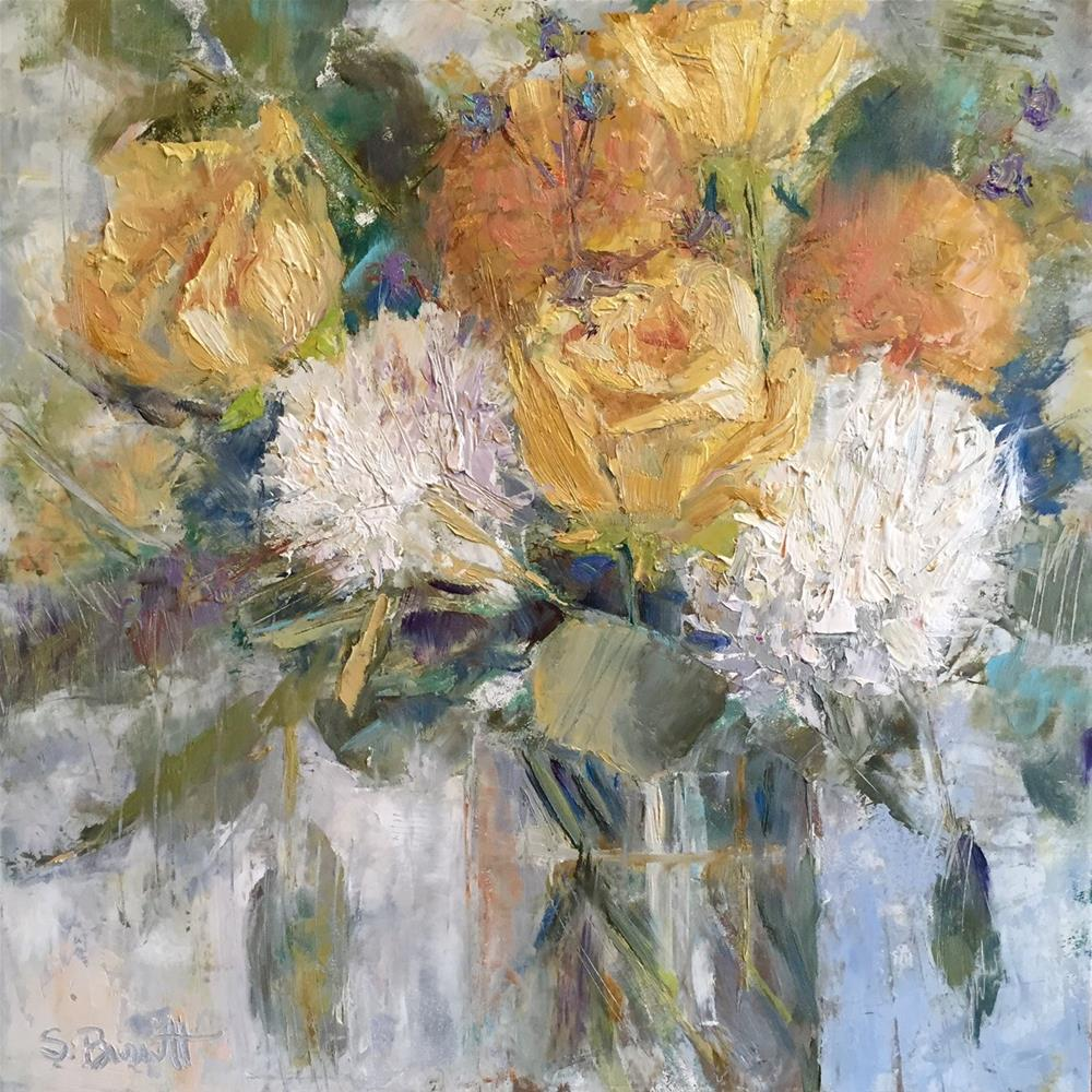 """All My Love"" original fine art by Sherri Burritt"