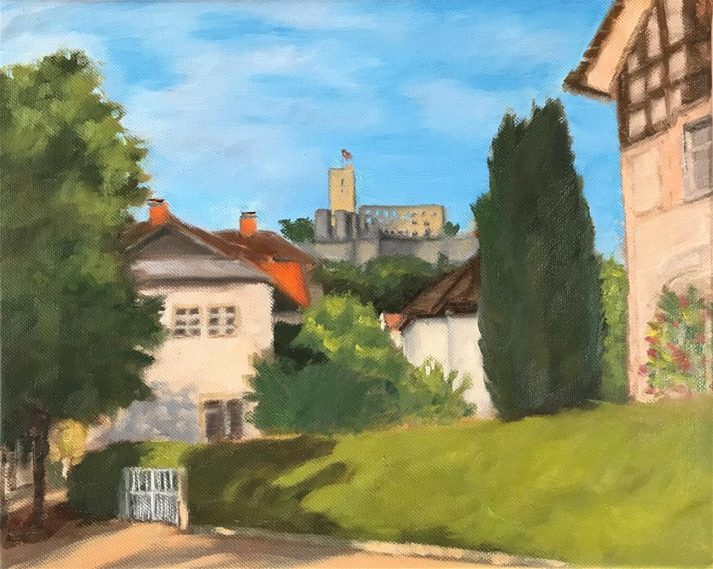 """Königstein Castle"" original fine art by Karen D'angeac Mihm"