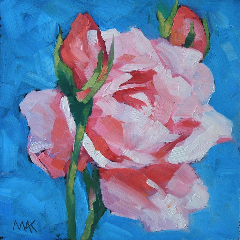 """Blush"" original fine art by Mary Anne Cary"