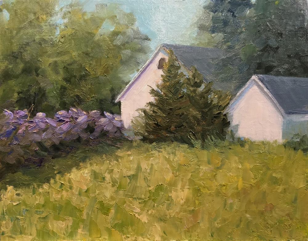 """Somewhere near Stillwater"" original fine art by Judith Anderson"