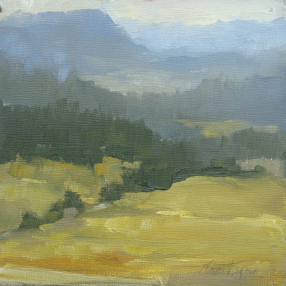 """Quiet Day in the Teanaway"" original fine art by Melanie Thompson"