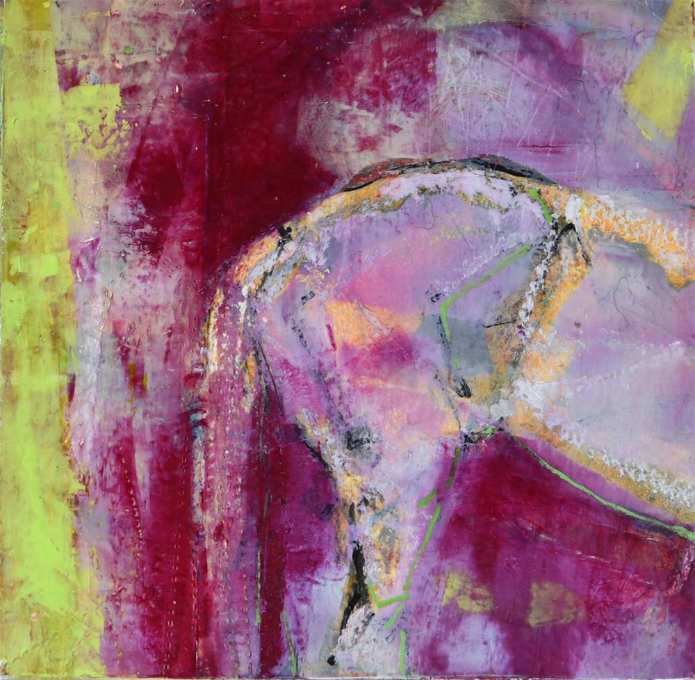 """Here and Now II"" original fine art by Jennifer Pratt"