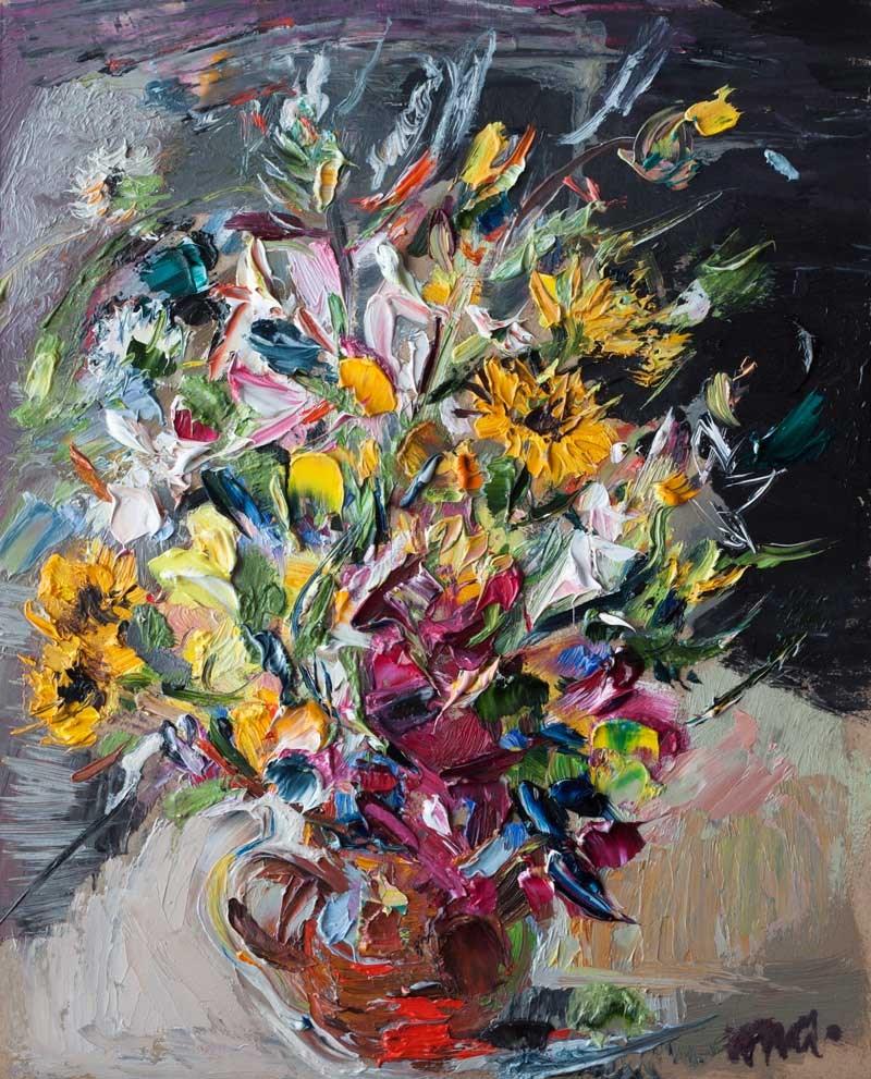 """""""Bouquet"""" original fine art by Anna Fine Art"""