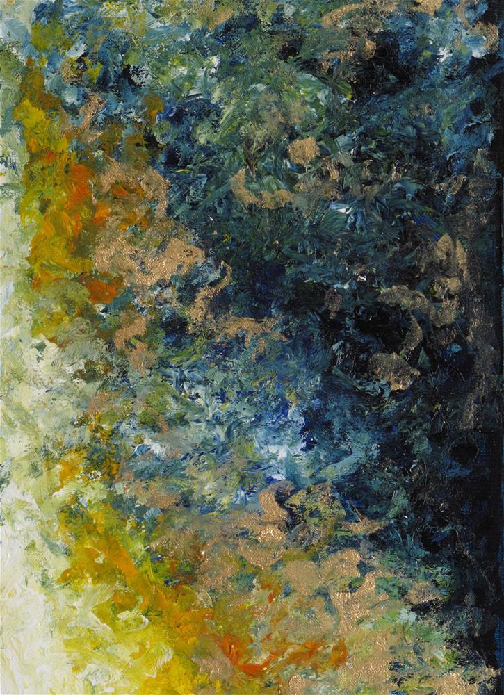 """Sky on fire"" original fine art by Anna Starkova"