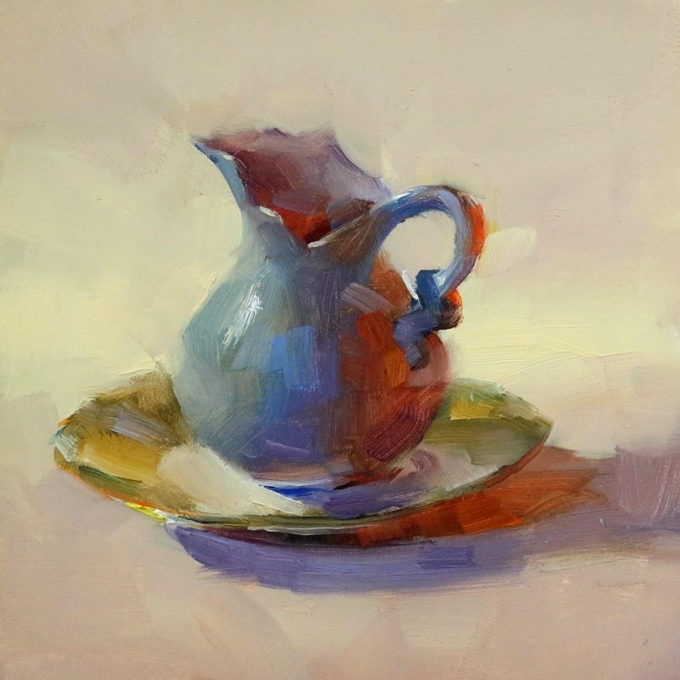 """White in Dark"" original fine art by Qiang Huang"
