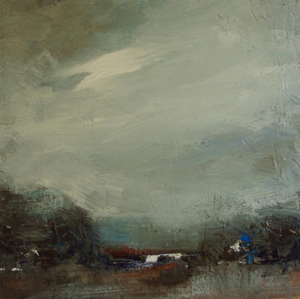 """""""Dark clouds"""" original fine art by Parastoo Ganjei"""