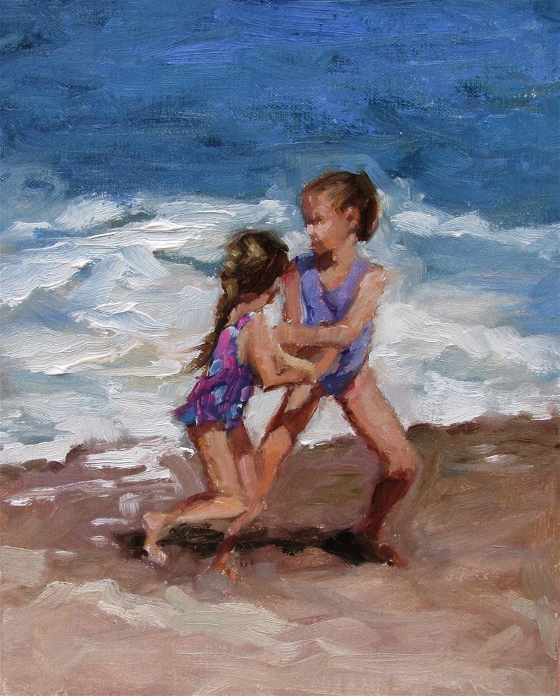 """Playful"" original fine art by Dana Cooper"