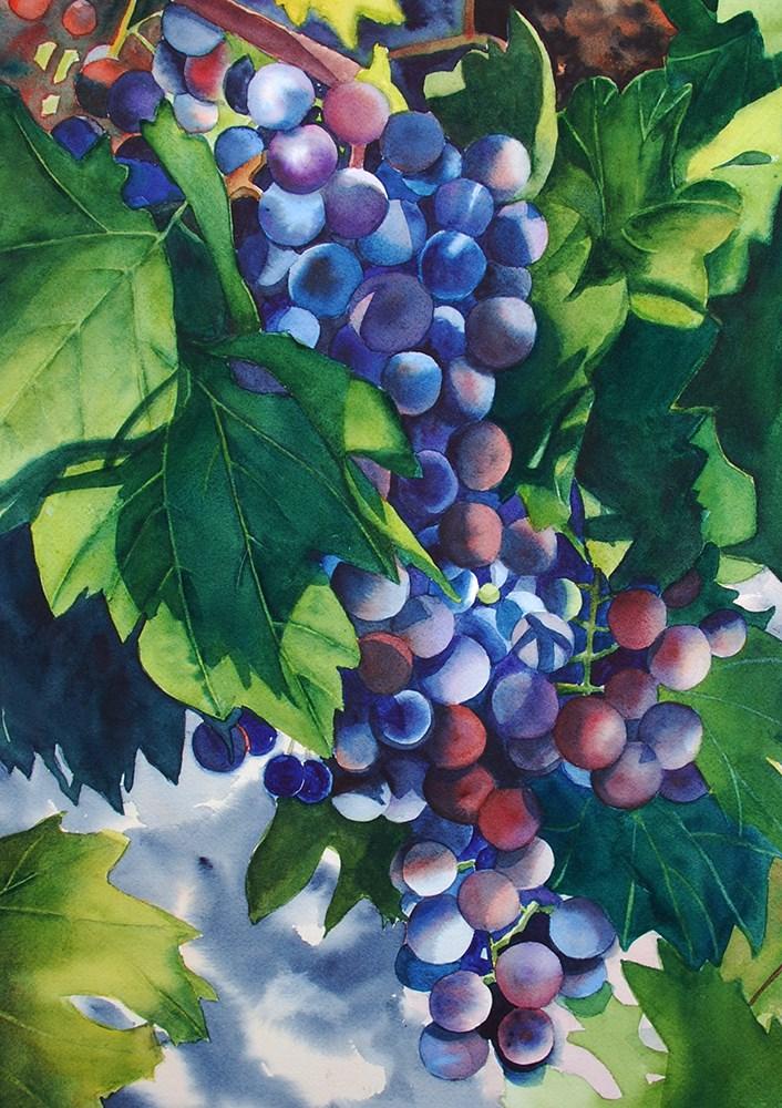 """September Harvest"" original fine art by Mary Anderson"