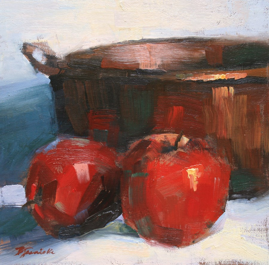 """In Front of the Bowl"" original fine art by Barbara Jaenicke"