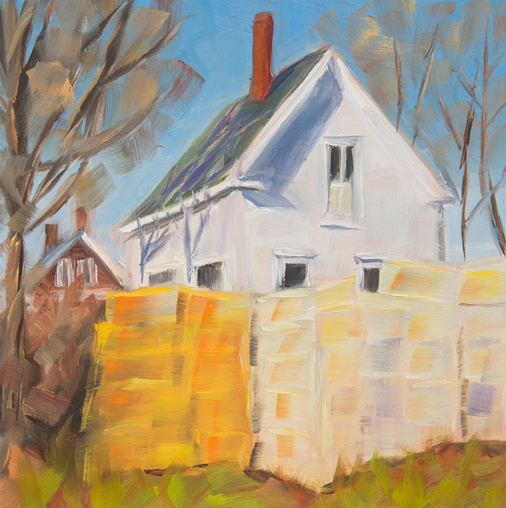 """#10 - Ready and Waiting - Orr's Island, ME"" original fine art by Sara Gray"