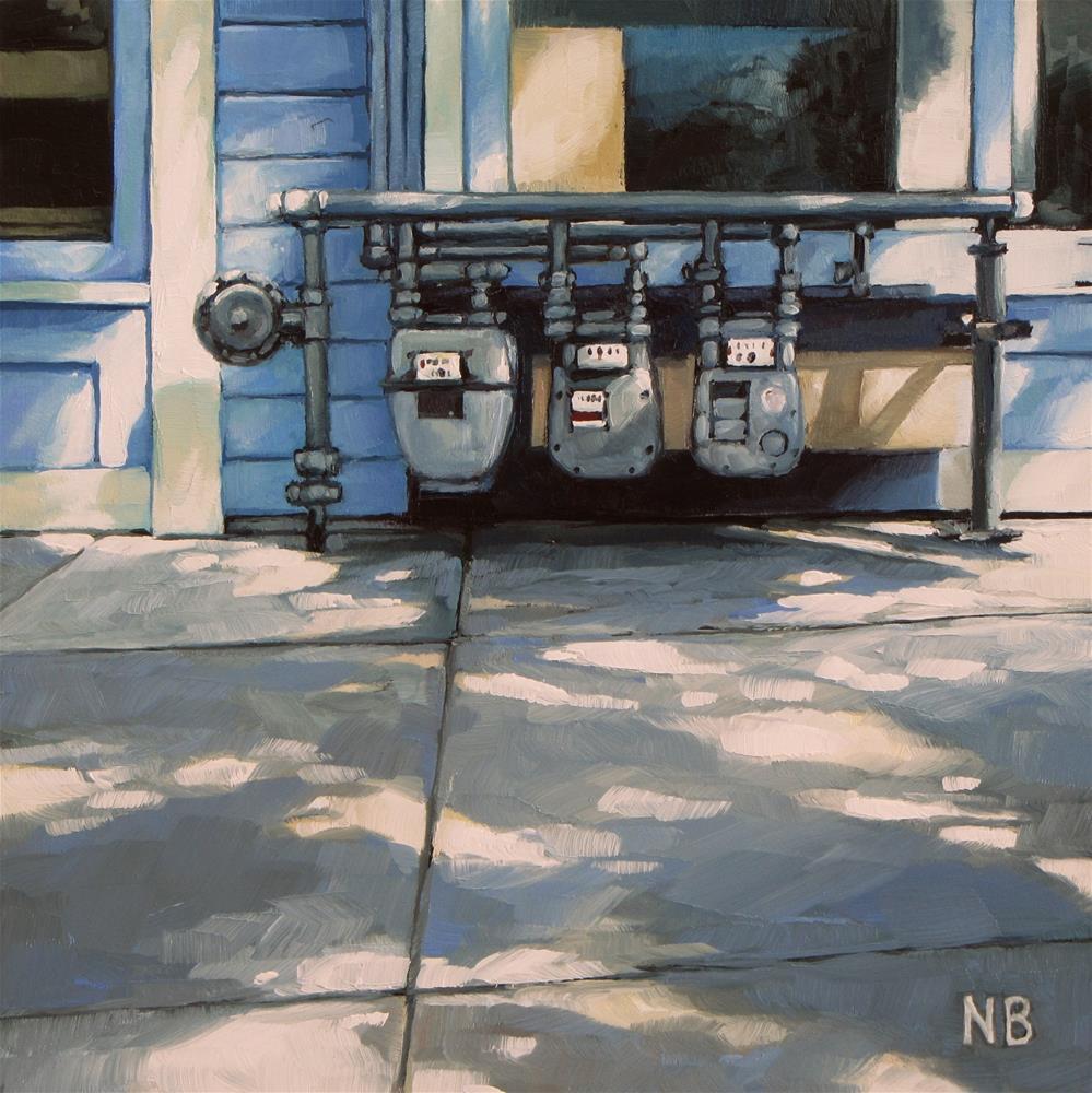 """""""Light Meters"""" original fine art by Nora Bergman"""