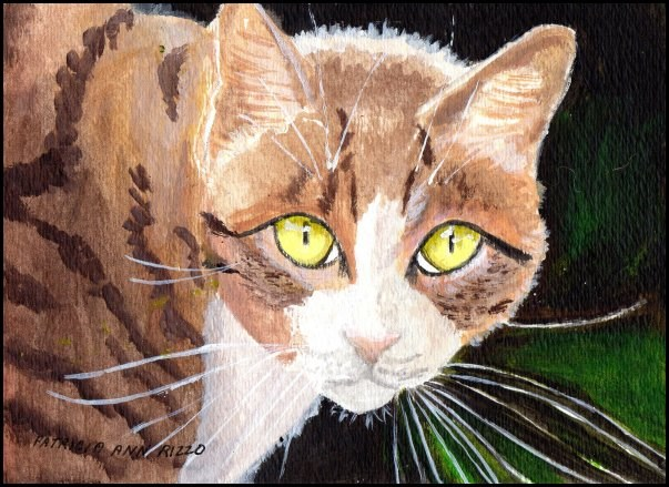 """Cuddles"" original fine art by Patricia Ann Rizzo"