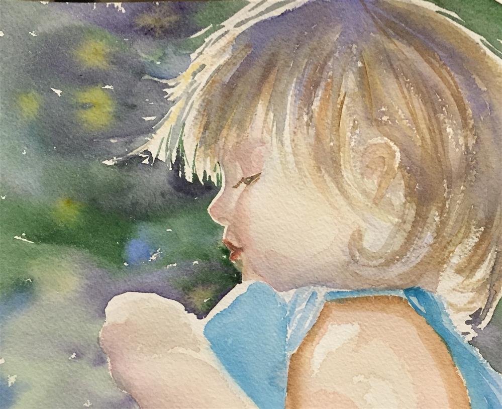 """Fascination with the smallest wonders"" original fine art by Natasha Ramras"