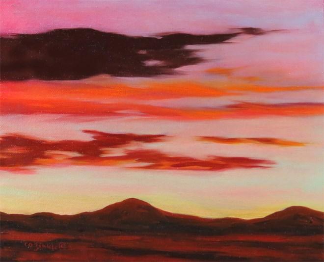 """""""Beautiful Blanket"""" original fine art by Carol Zirkle"""
