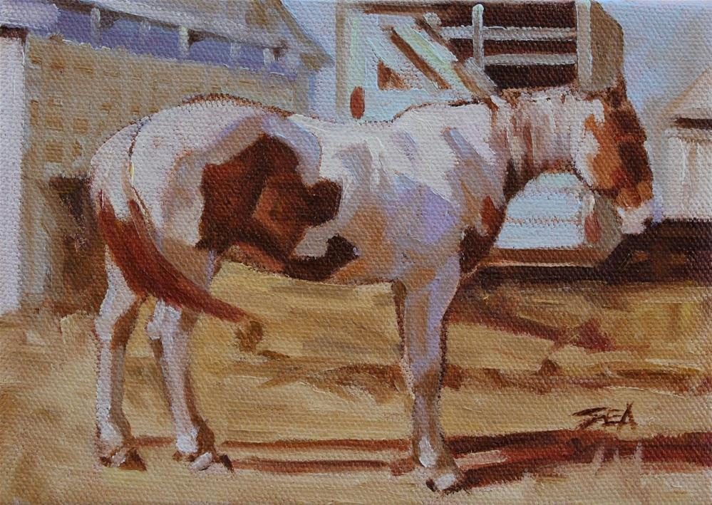 """""""Backyards and Trailers"""" original fine art by Susan Ashmore"""