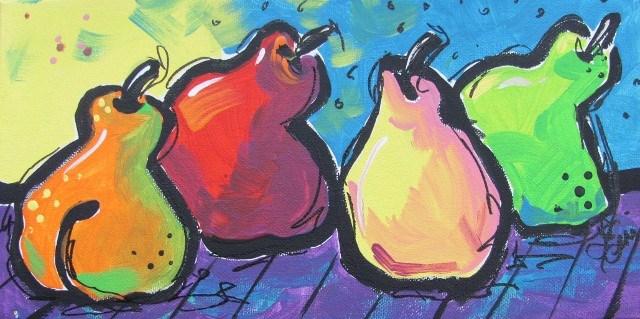 """""""Ballerinas"""" original fine art by Terri Einer"""