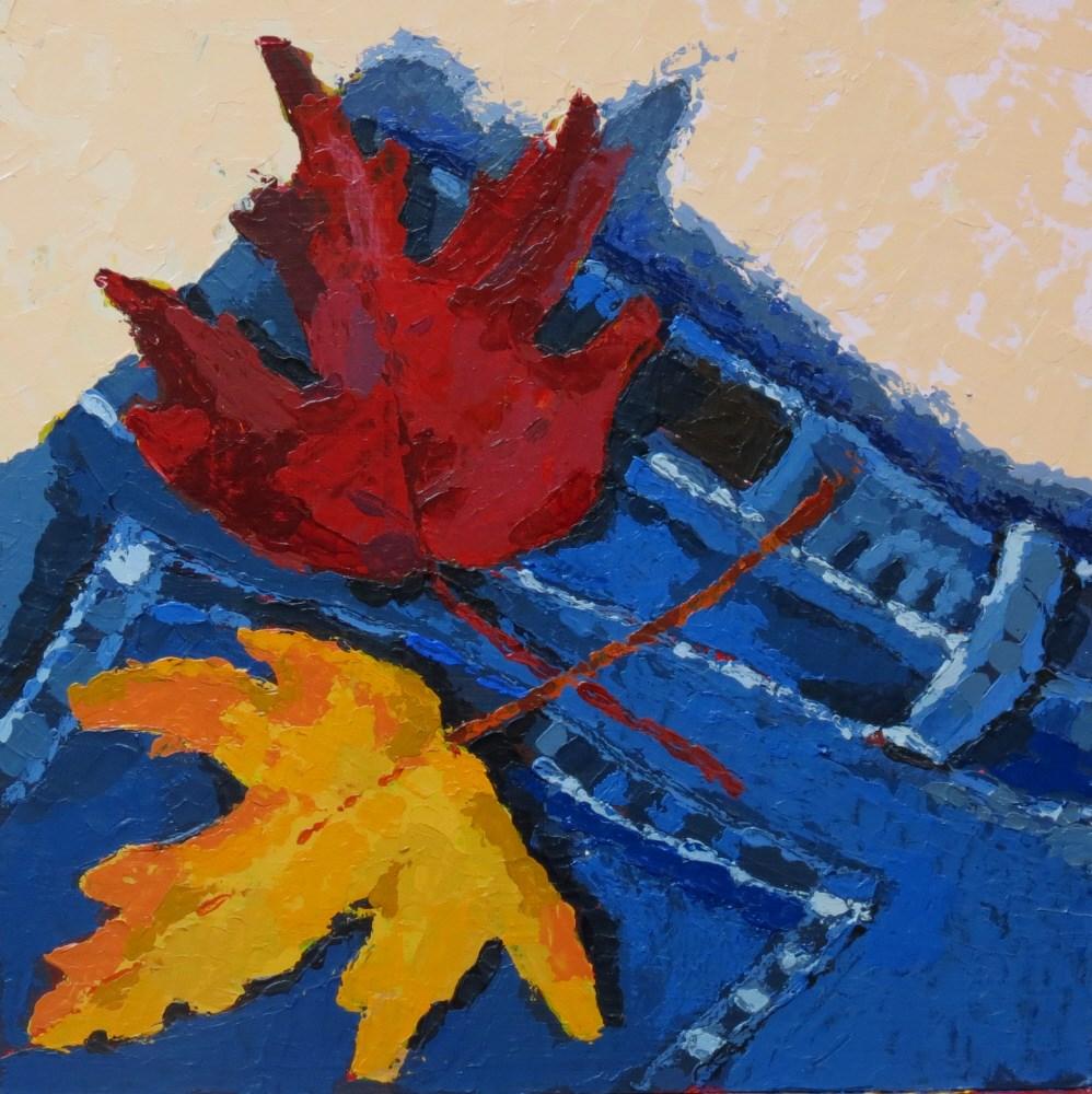 """Primary Colors"" original fine art by Joan Wiberg"