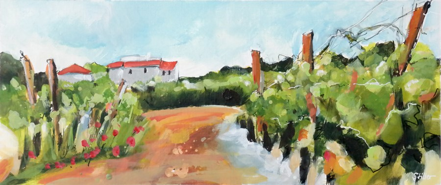 """2928 Grand Vinery"" original fine art by Dietmar Stiller"