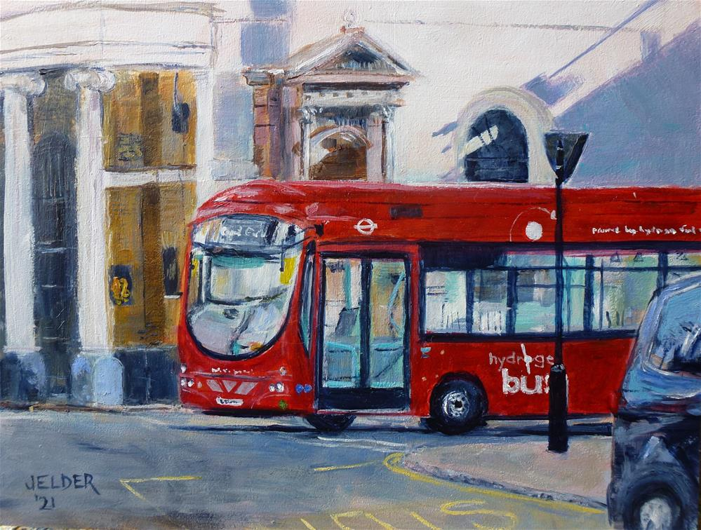"""London No. 26"" original fine art by Judith Elder"