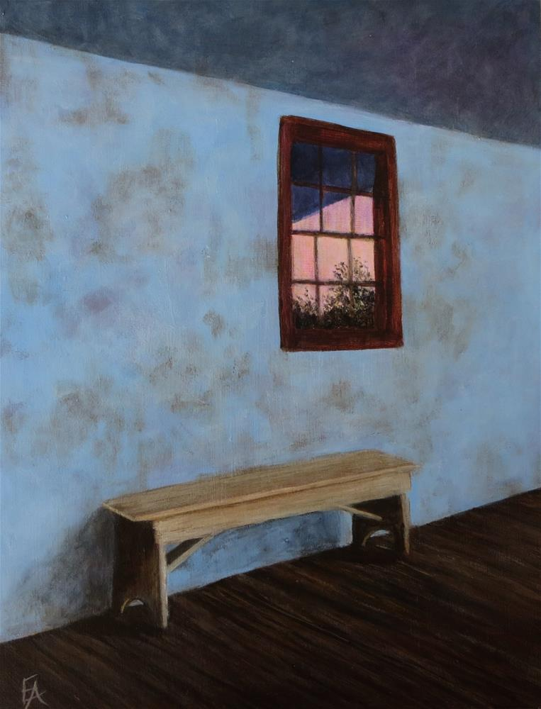 """Stillness"" original fine art by Elizabeth Elgin"