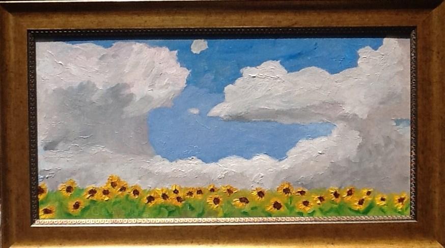 """YOU ARE MY SUNSHINE"" original fine art by Charlotte Bankhead Hedrick"