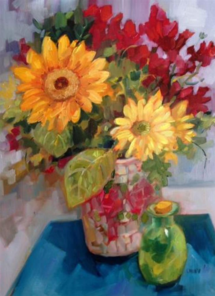 """""""How Sweet it Is"""" original fine art by Libby Anderson"""