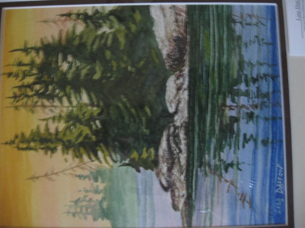 """REFLECTIONS"" original fine art by Lisa Darrow"