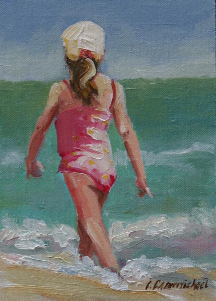 """""""sassy"""" original fine art by Carol Carmichael"""