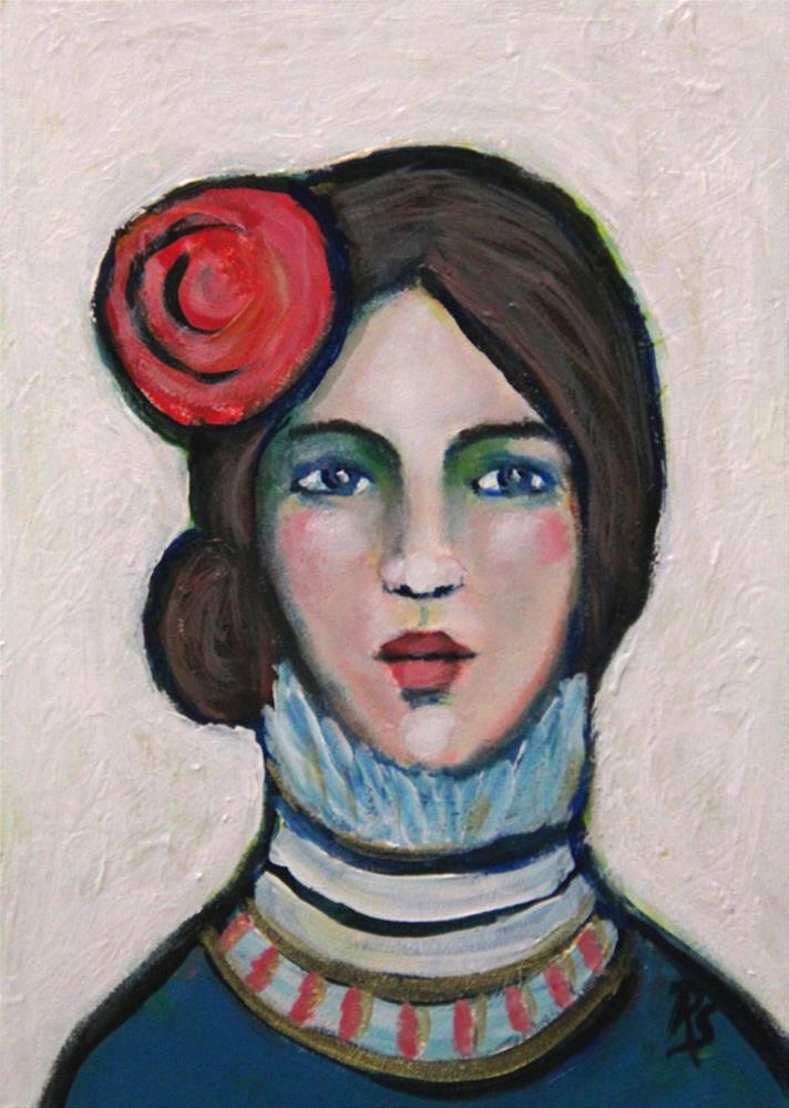 """""""Sienna"""" original fine art by Roberta Schmidt ArtcyLucy"""