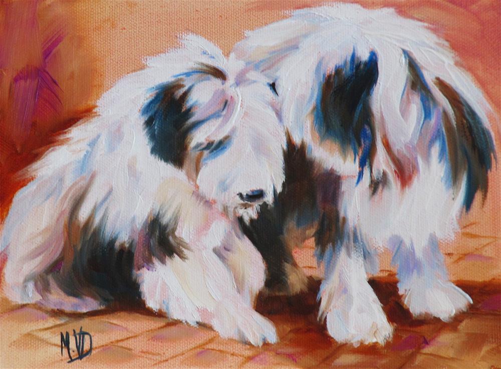 """""""Sweet Nothings II"""" original fine art by Mary Van Deman"""