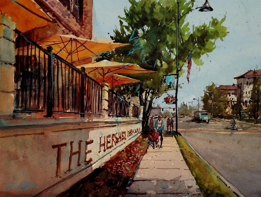 """Hershey Afternoon"" original fine art by Brienne M Brown"