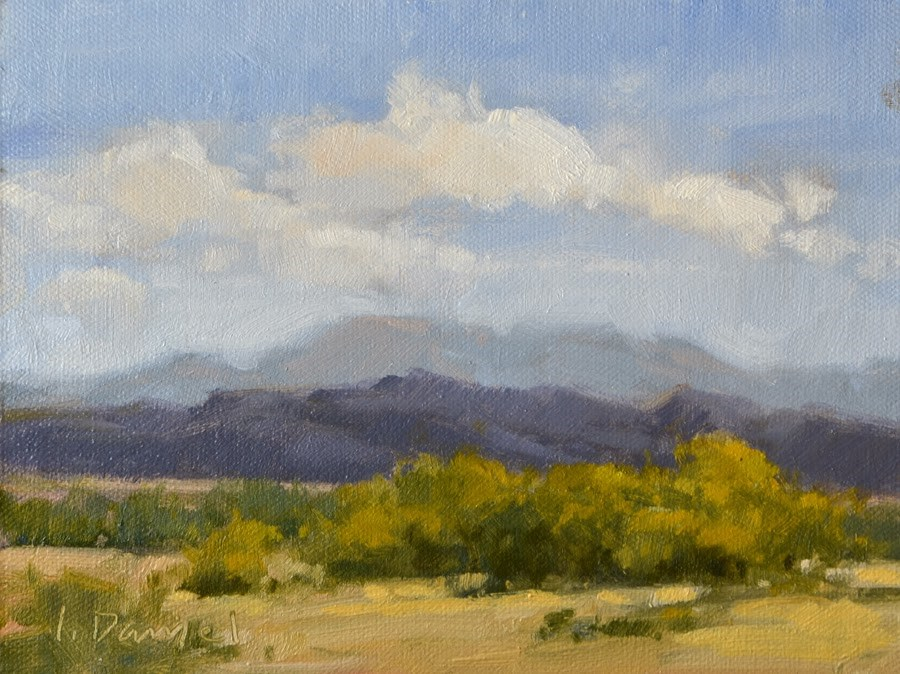 """Layered Mesa - Big Bend, Texas"" original fine art by Laurel Daniel"