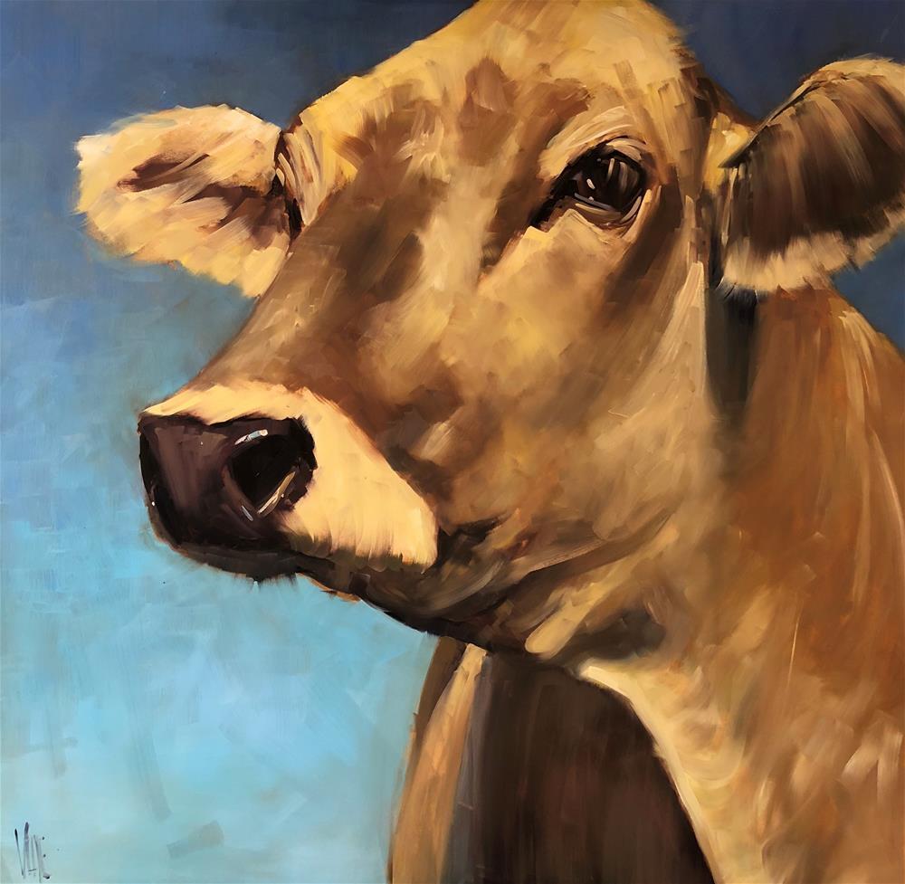 """""""Outta Iowa"""" original fine art by Patty Voje"""