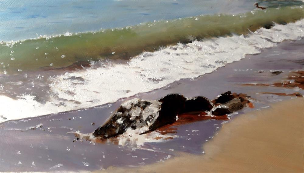 """Waves"" original fine art by James Coates"