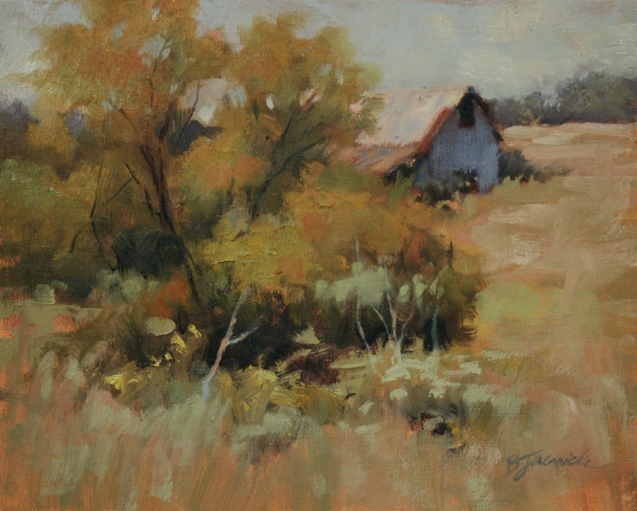 """Warm September Afternoon"" original fine art by Barbara Jaenicke"