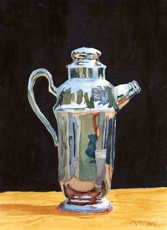 """""""Life's Reflections"""" original fine art by Carolynn Doan"""