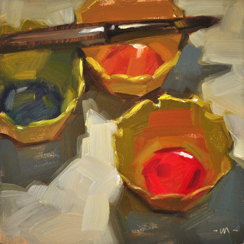 """Kid Paint"" original fine art by Carol Marine"