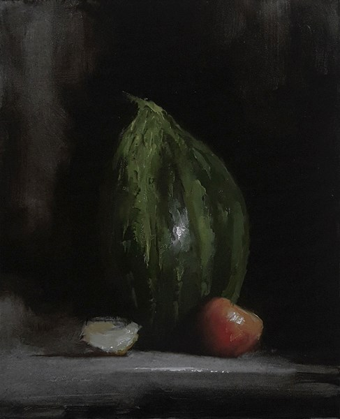 """Melon"" original fine art by Neil Carroll"