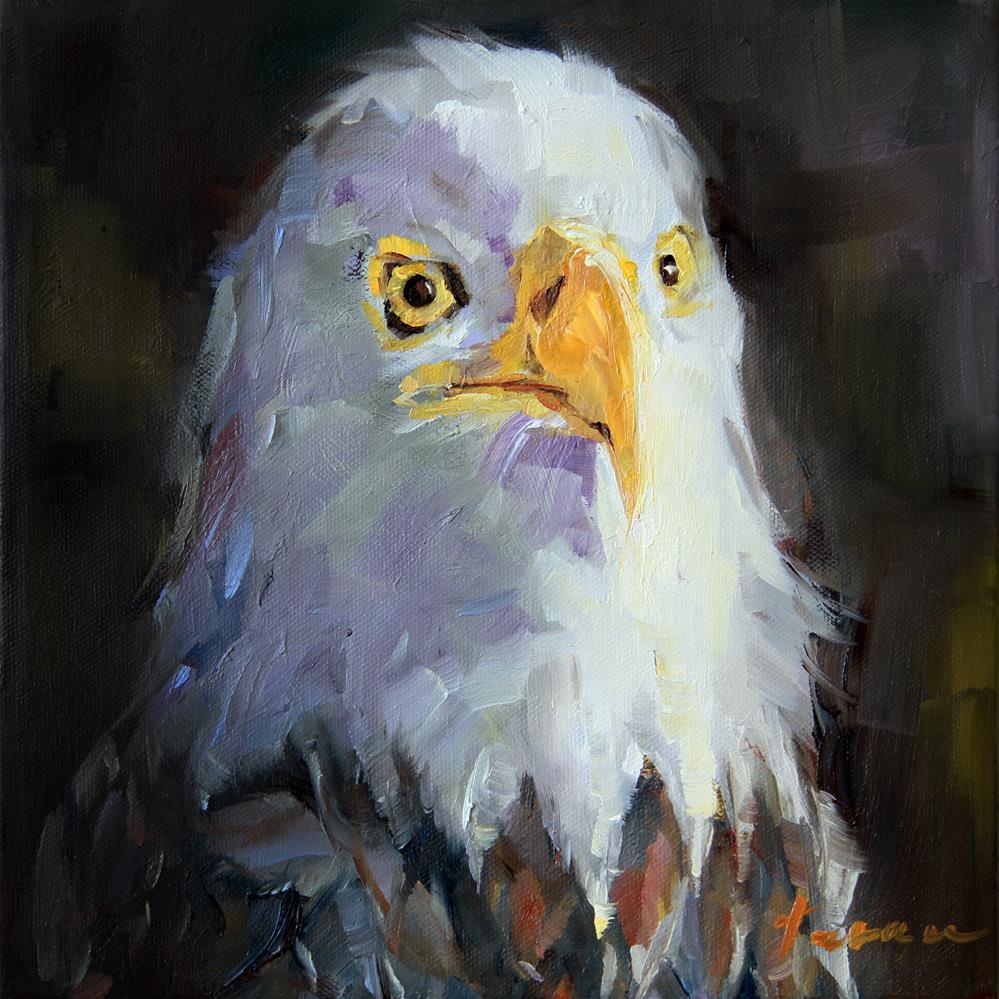 """""""Eagle"""" original fine art by Teresa Yoo"""